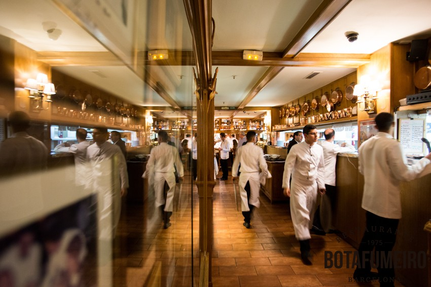Pase de Camareros Restaurante Botafumeiro