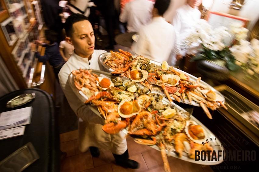 Botafumeiro SeaFood Platter