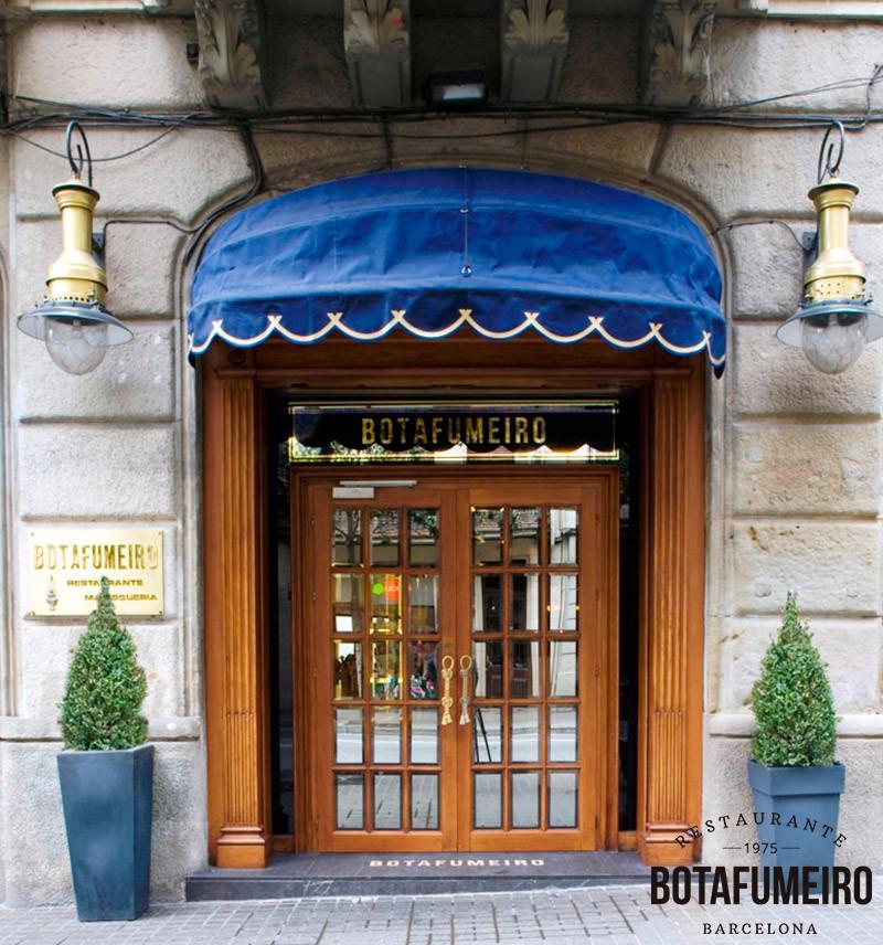 Entrada Restaurante Botafumeiro