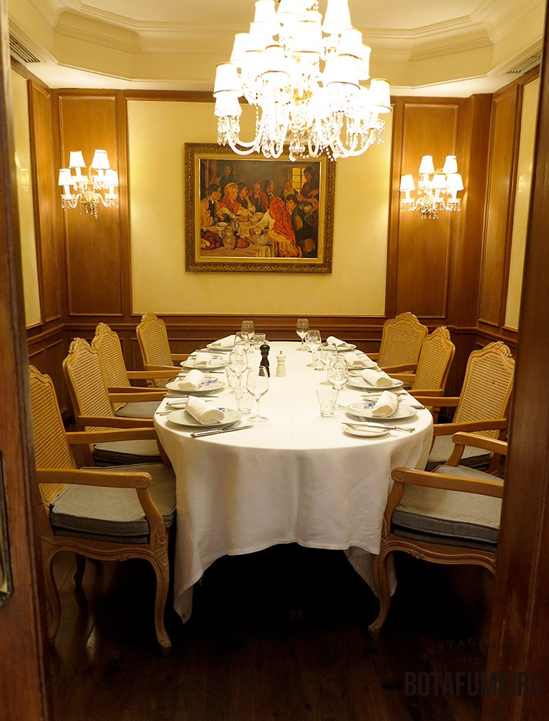 Salón privado Botafumeiro (10-12 pax)